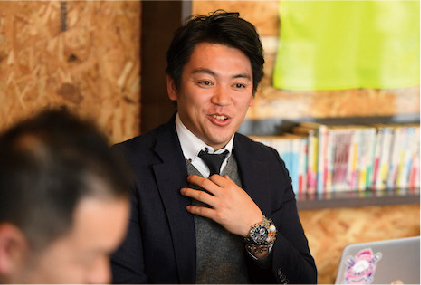 株式会社NEXT・カワシマ営業企画グループ グループリーダー 川嶋 啓太様