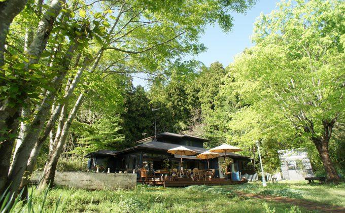 咲くカフェ Uターンクリエイターが生み出した、日常と非日常が重なる場所